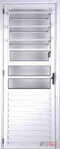 Porta Basculante de Aluminio